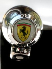 Ferrari Gloss Black 100 Ballpoint Pen by Sheaffer
